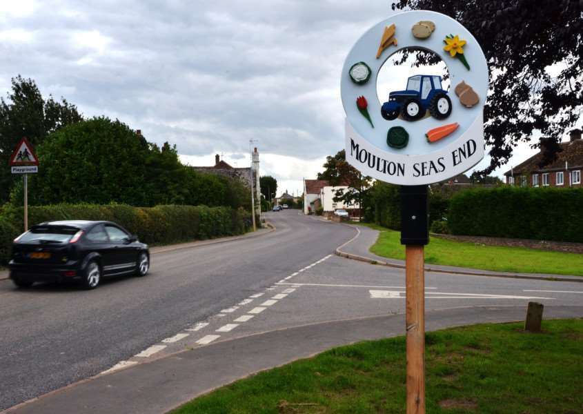 Angry villagers have set up a new page on social media website Facebook called 'Stop Speeding in Moulton Seas End'.''Photo: SG120917-123TW.