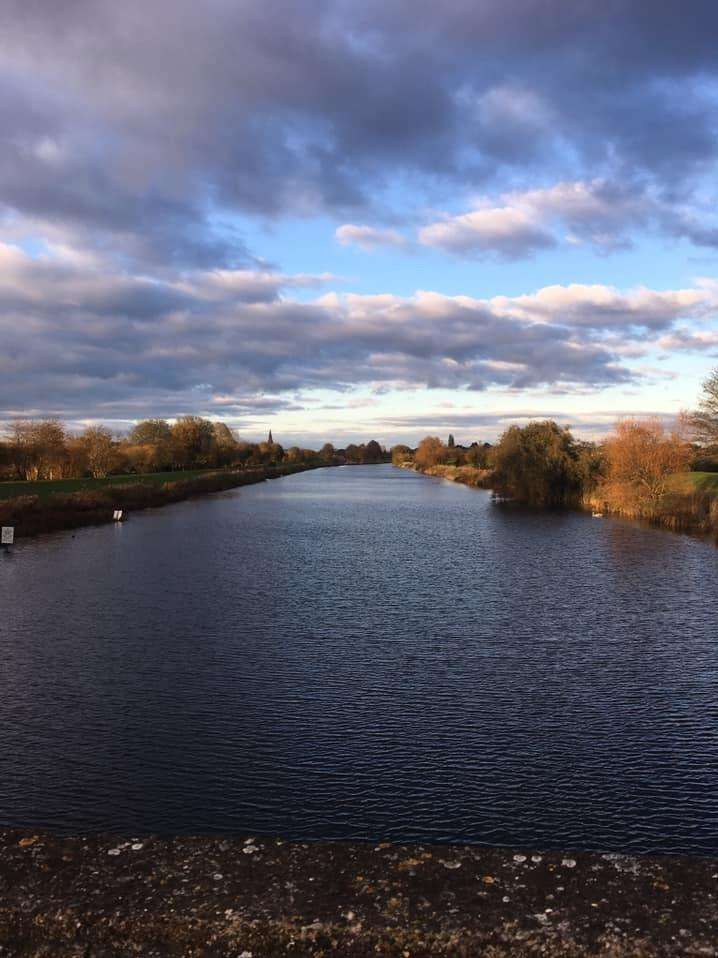 READERS' PHOTOS: Sarah Carr's beautiful image of the Coronation Channel in Spalding. (7430281)