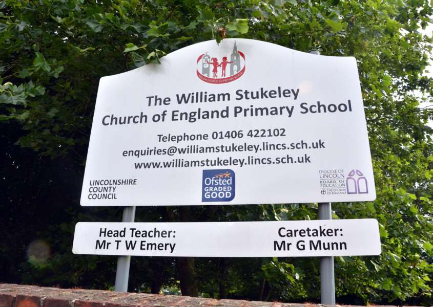 William Stukeley Primary has asked pupils not to dab and flip bottles. (SG130717-116TW)