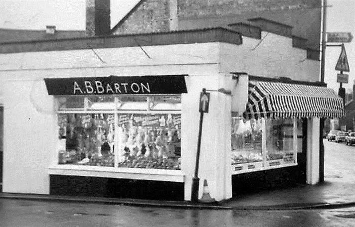 Bartons Butchers as it looked in the 1960s. Photo supplied by Judy Sadd. (2905676)