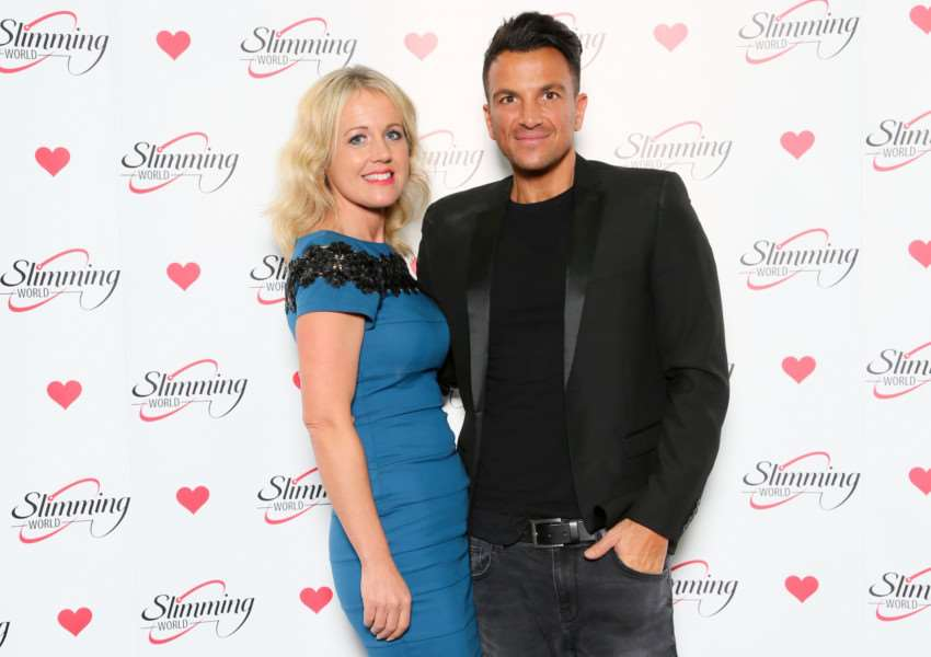 Emma Scarborough and Peter Andre
