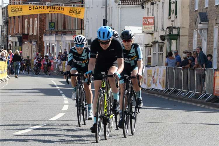 CYCLING: Podium place for Ali at end of Bourne festival