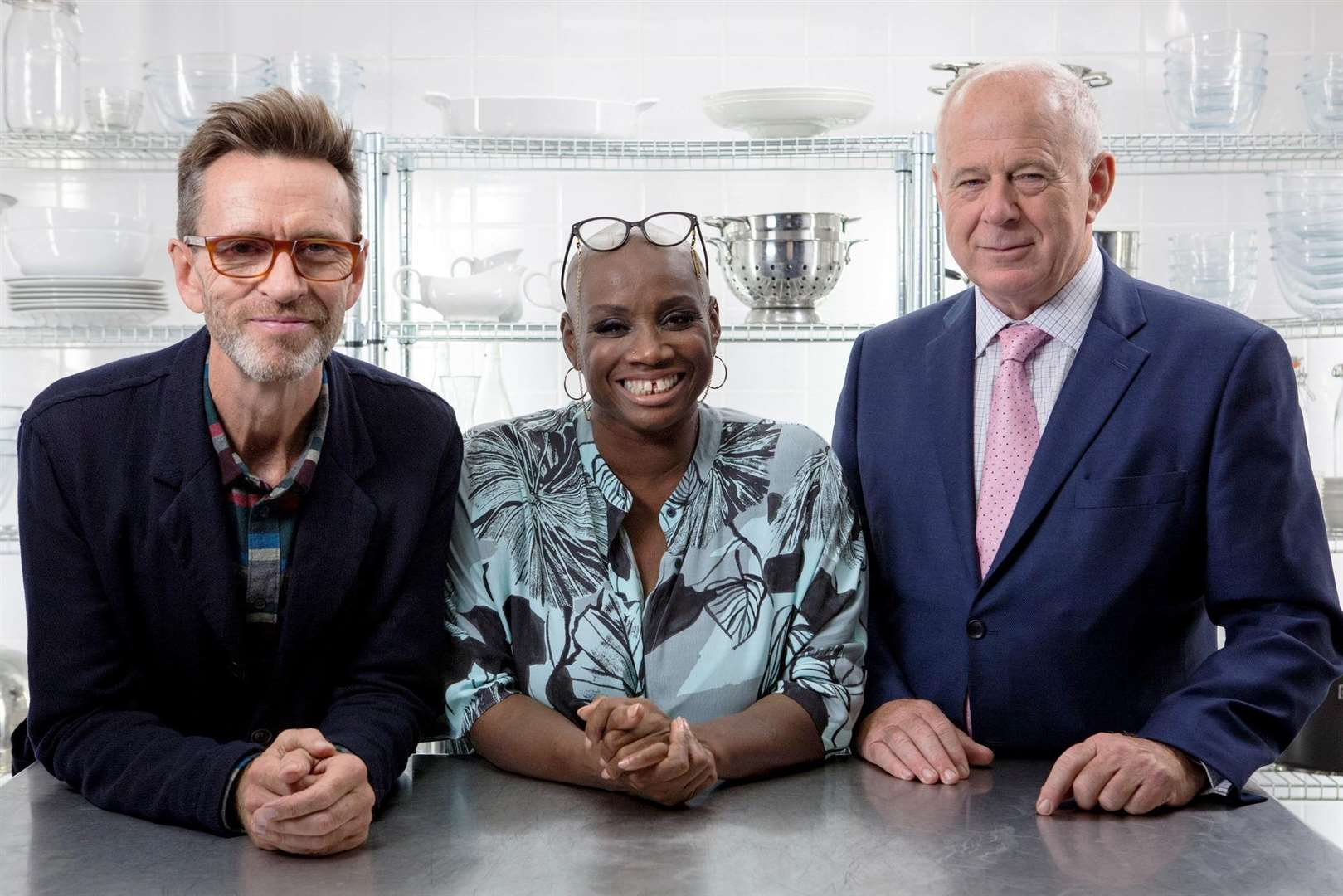GBM judges Oliver Payton, Andi Oliver and Matthew Fort (Photo: BBC)