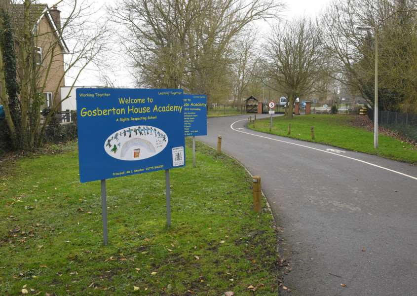 Gosberton House Academy could become an 'all needs' school, rather than a specialist autistic one, under plans by Lincolnshire County Council children's services. Photo by David Dawson. MSSP-130118-1.