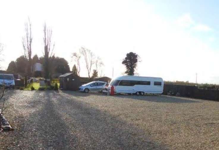 The Travellers' land in Hurdletree Bank, Spalding