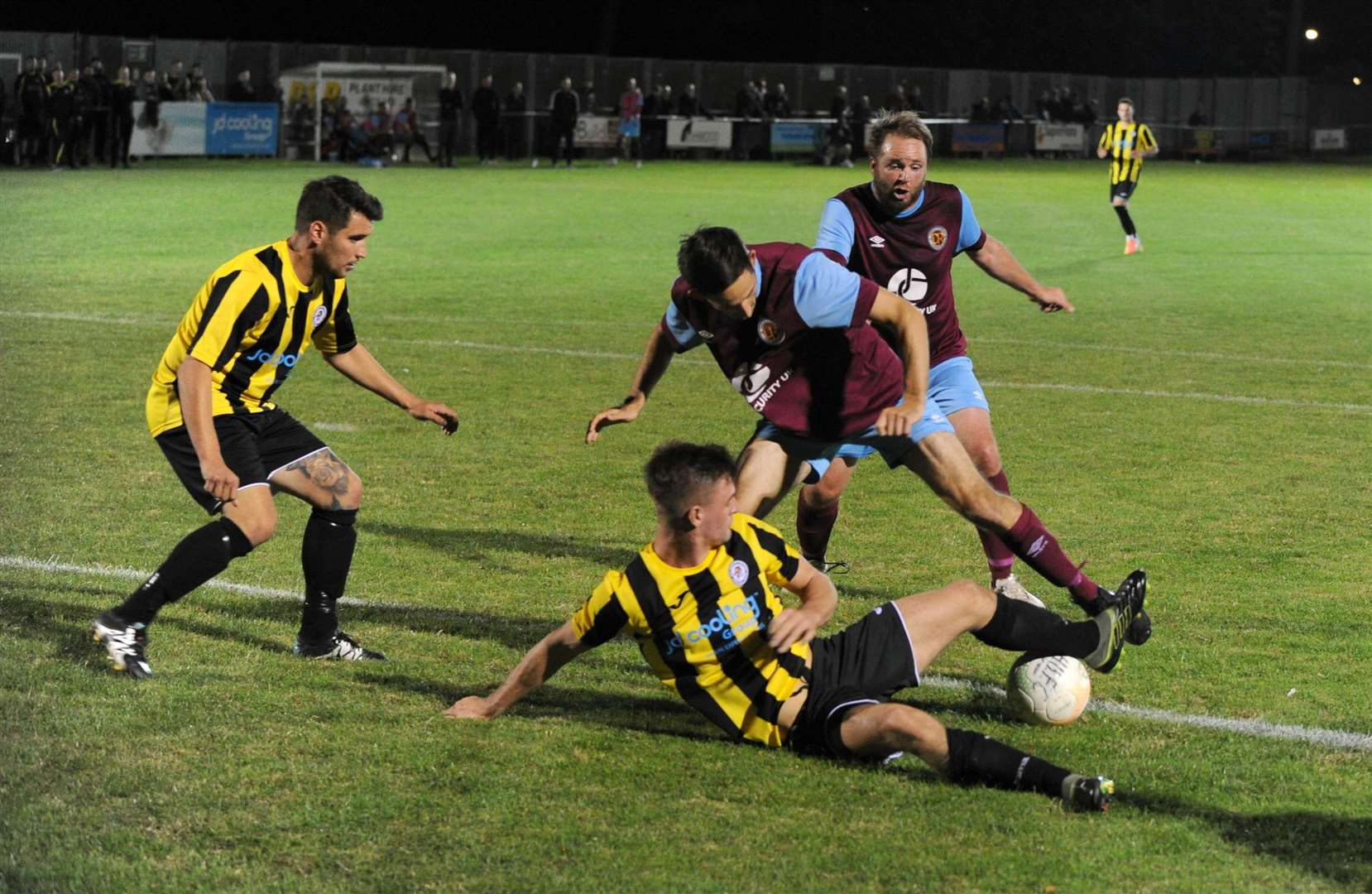 Holbeach United lost an early season derby clash with Deeping Rangers.