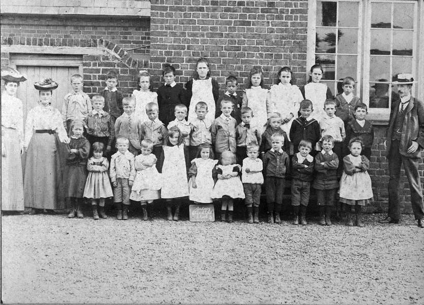 Old Gedney School picture