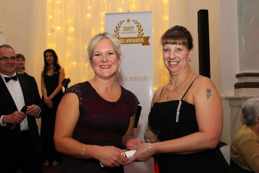 Linda Morris of Kimberley Care Home was Highly Commended in the Outstanding Learner category