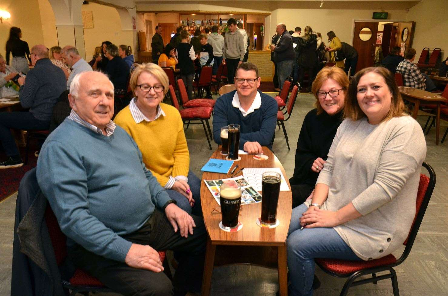 Supporting the fundraising quiz organised by the Friends of Spalding St Paul's School