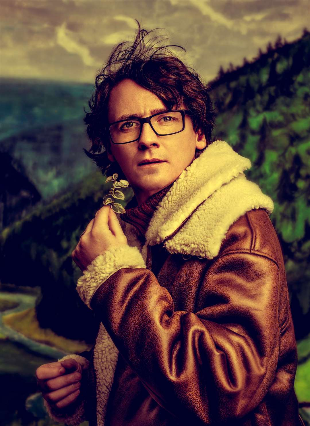 Comedian Ed Byrne. Photo by Idil Sukan.