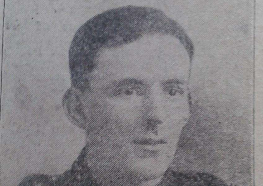 Sgt Harry Peake, who was killed in action in 1918.