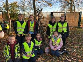 Surfleet Primary School has achieved its Green Tree Gold Award (5572753)