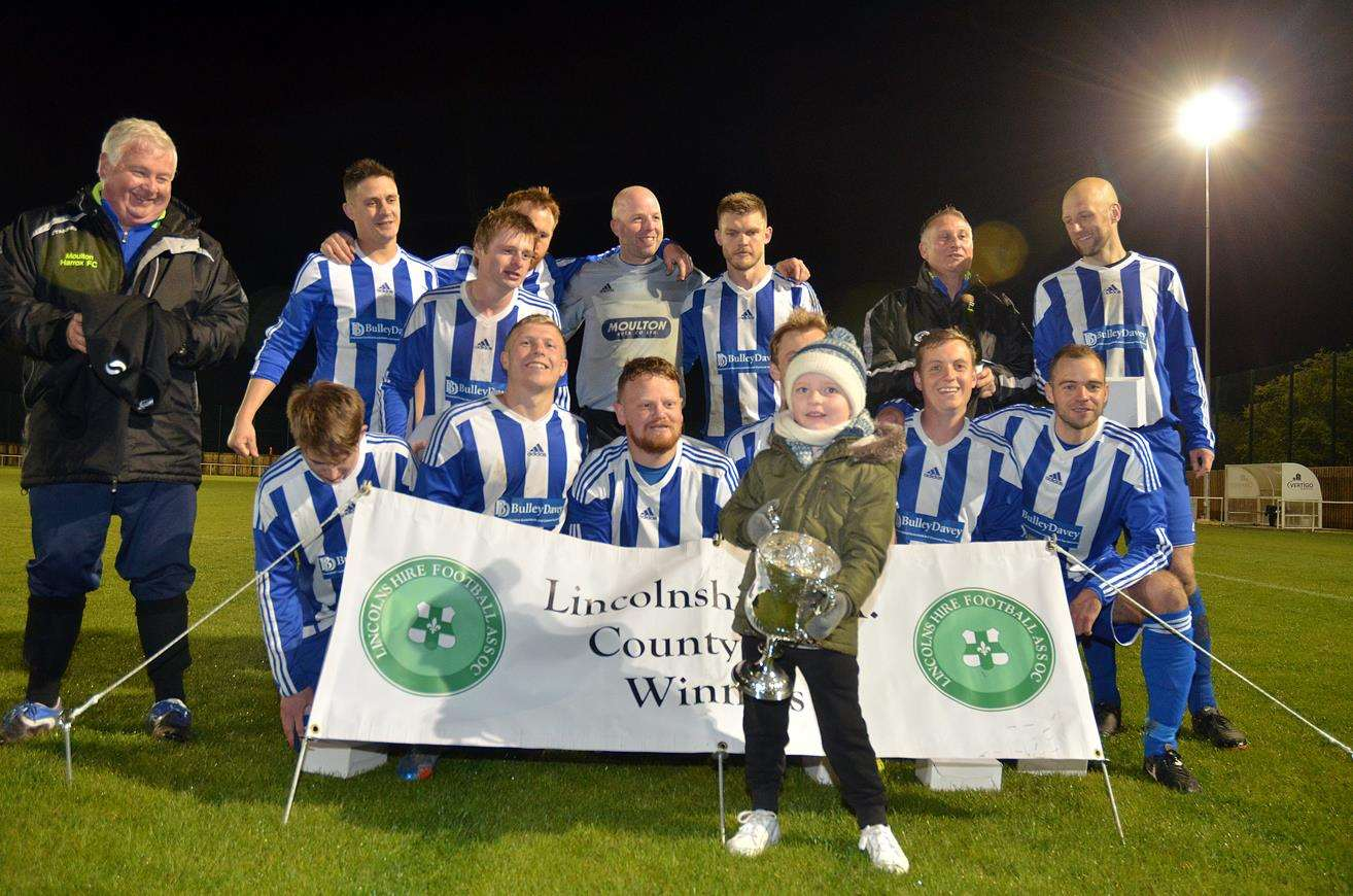 Moulton Harrox have already won the Lincolnshire FA Junior Cup
