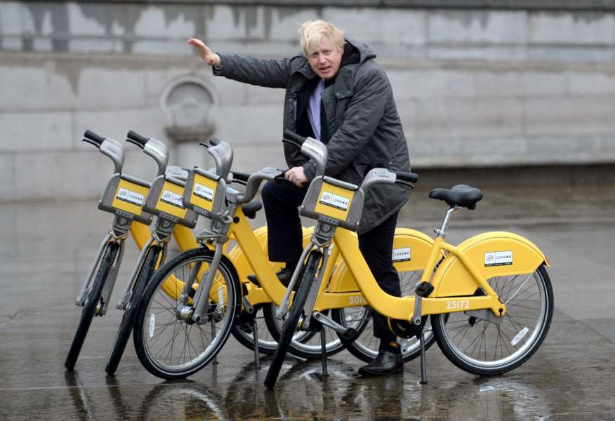 PAST MASTER: Boris Johnson has long been an expert on all matters relating to transport.