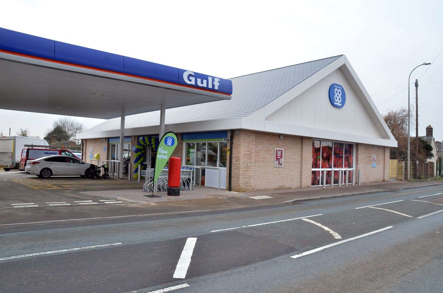 The new Co-op store, which opened in Whaplode on Thursday.