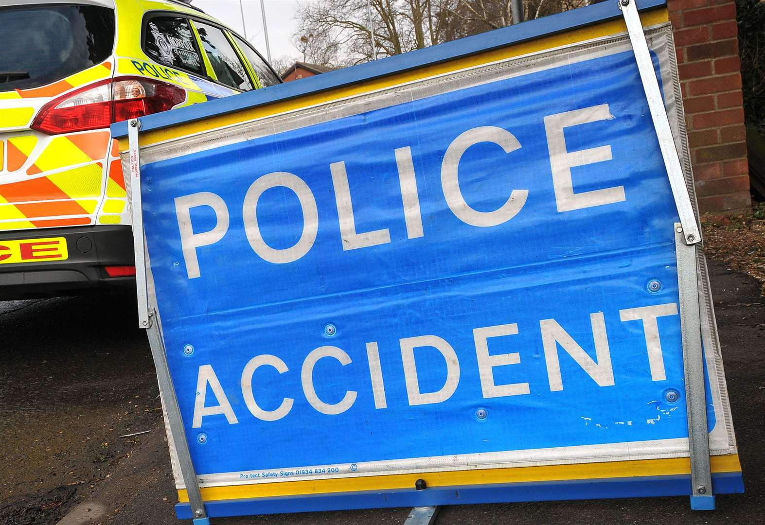 One person has been taken to hospital after a two-car collision in Spalding. (15177303)