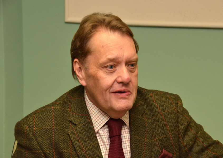 MP John Hayes who has become vice patron for the BNTVA.