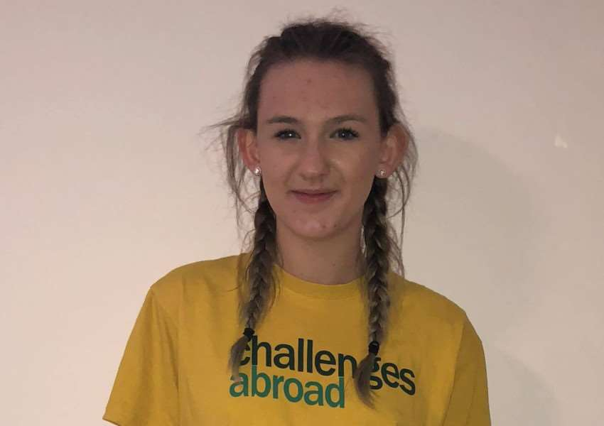 Brittany Sharman is fundraising for FutureSense Foundation's Cambodia Sports Challenge which she is hoping to go on in July. Photo supplied.