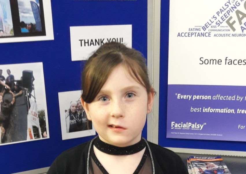 Young fundraiser Darcy Foulsham-Perkins