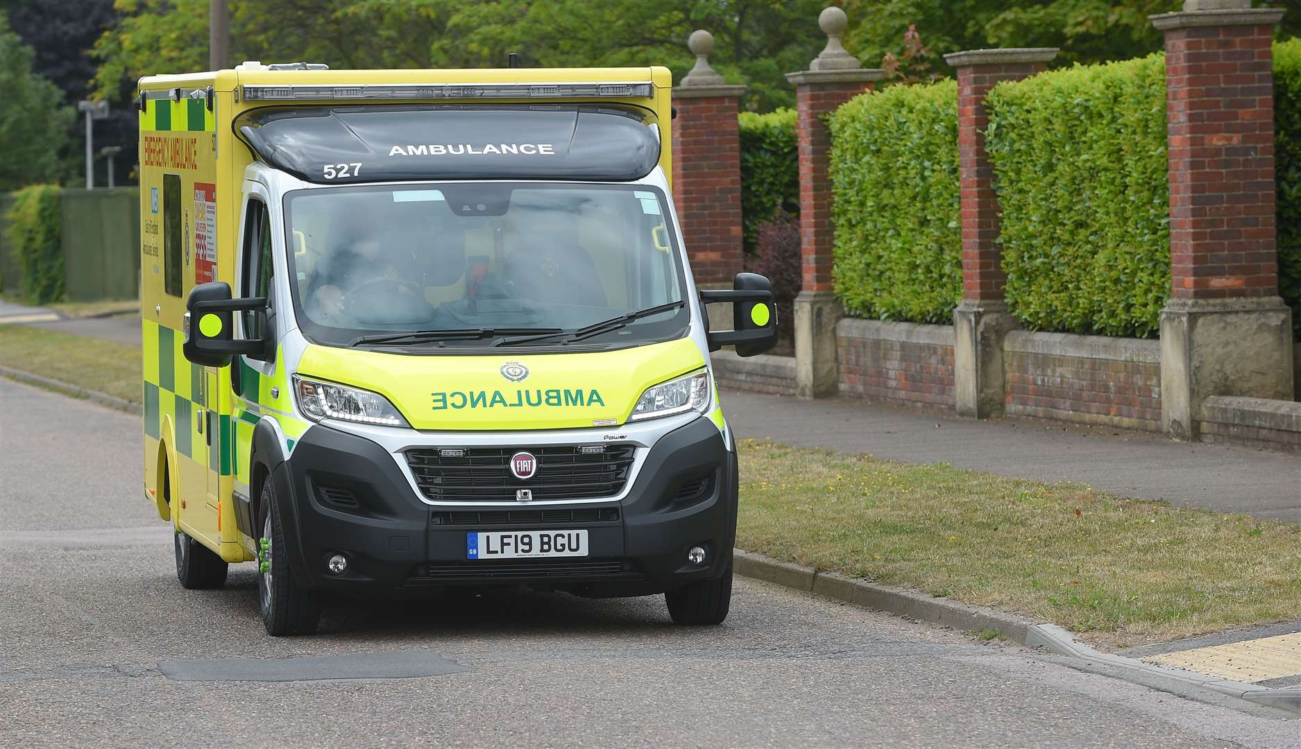 Concern about ambulances kept waiting