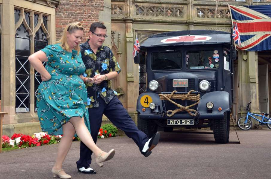 The council has continued to invest in local community events such as the 1940s weekend.