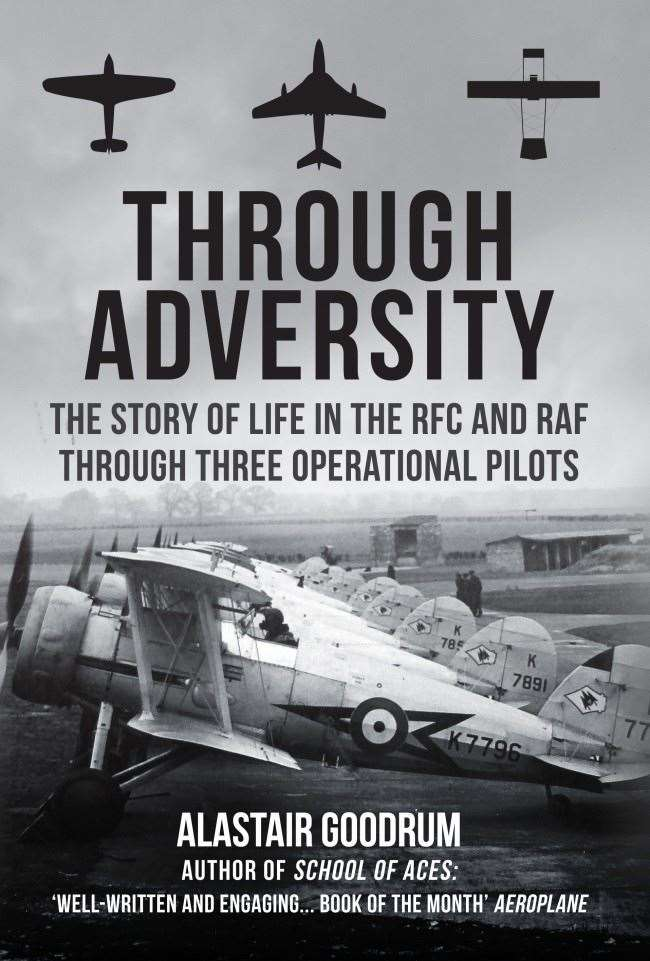 Author and historian Alistair Goodrum is at Bookmark in Spalding on Wednesday to promote his new book 'Through Adversity.'