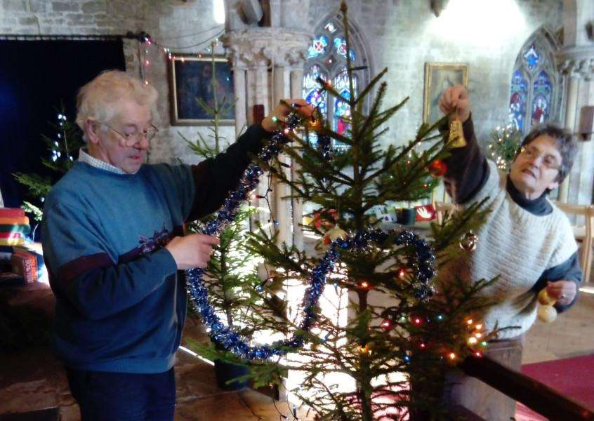Weston St Mary's Church has its Christmas Tree Festival until December 23.