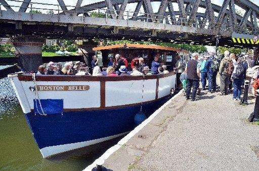 Take a trip aboard the Boston Belle with the RSPB's birdwatching trips. (2301047)
