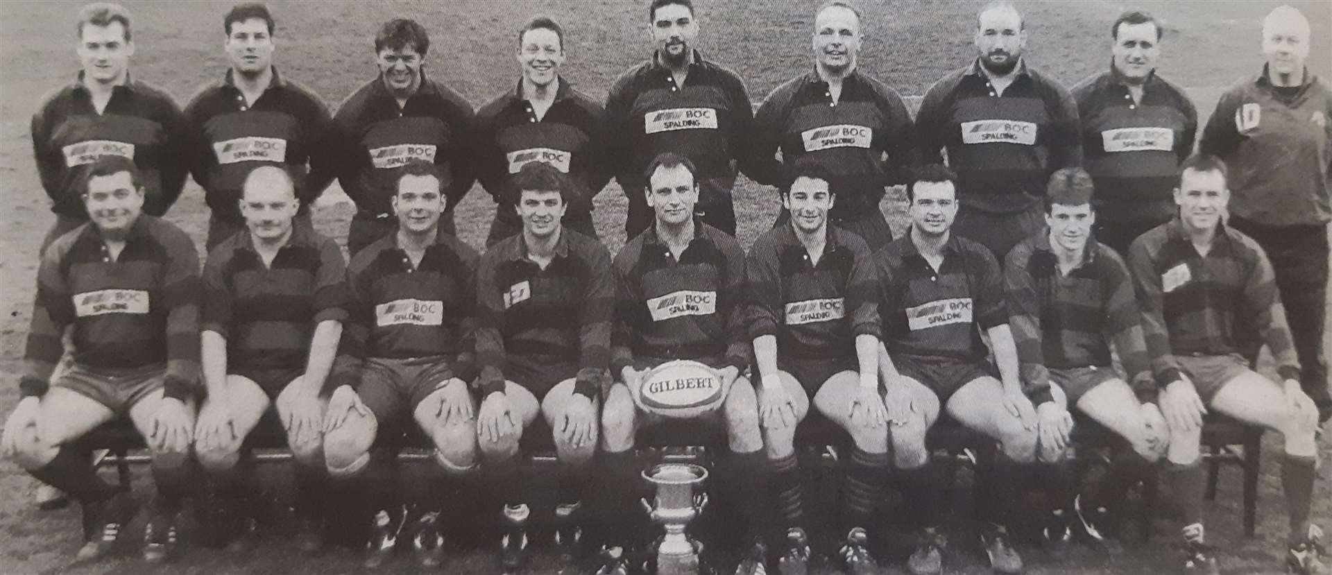 Spalding Rugby Club's 1995 county champions (33485737)