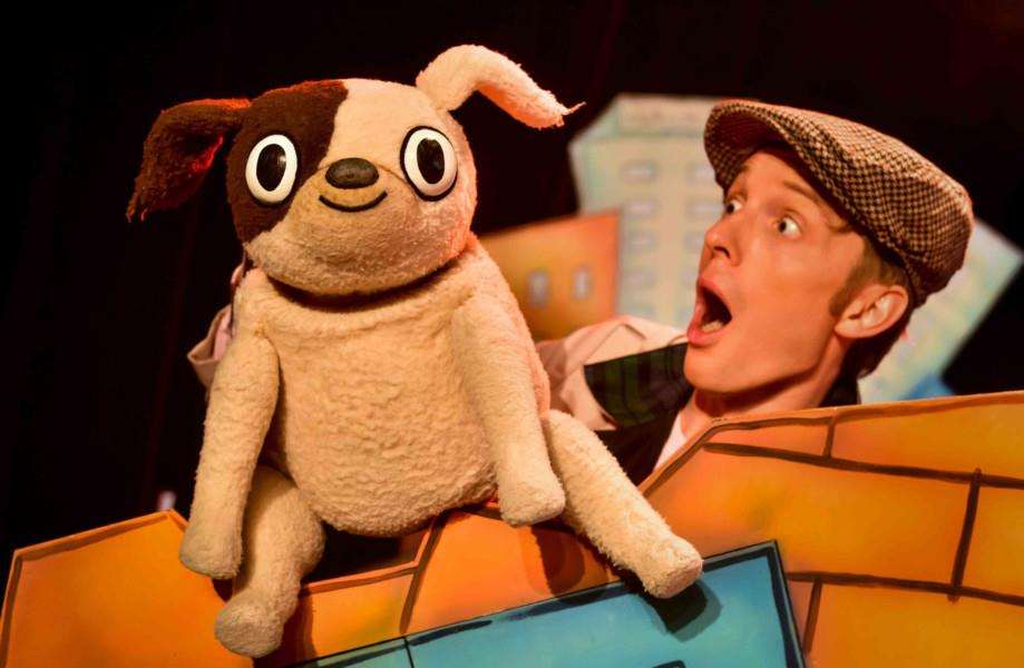 See Biff in Dogs Don't Do Ballet live on stage at the centre.