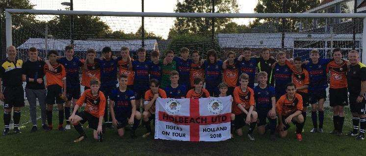 Holbeach United Under-15 Yellow and VV Altius (2380368)
