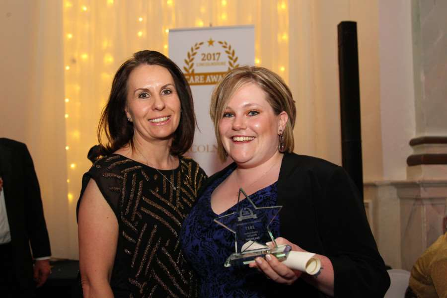 Lisa Jenkins of Kimberley Care Home was Highly Commended in the Rising Star category.