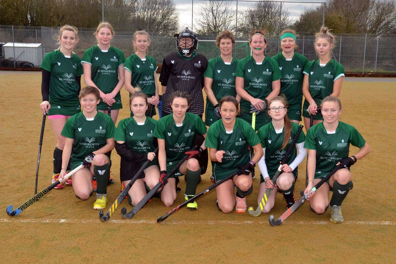 Long Sutton Ladies' 1sts won 3-1 at Saffron Walden Ladies' 1st.Photo by Tim Wilson.