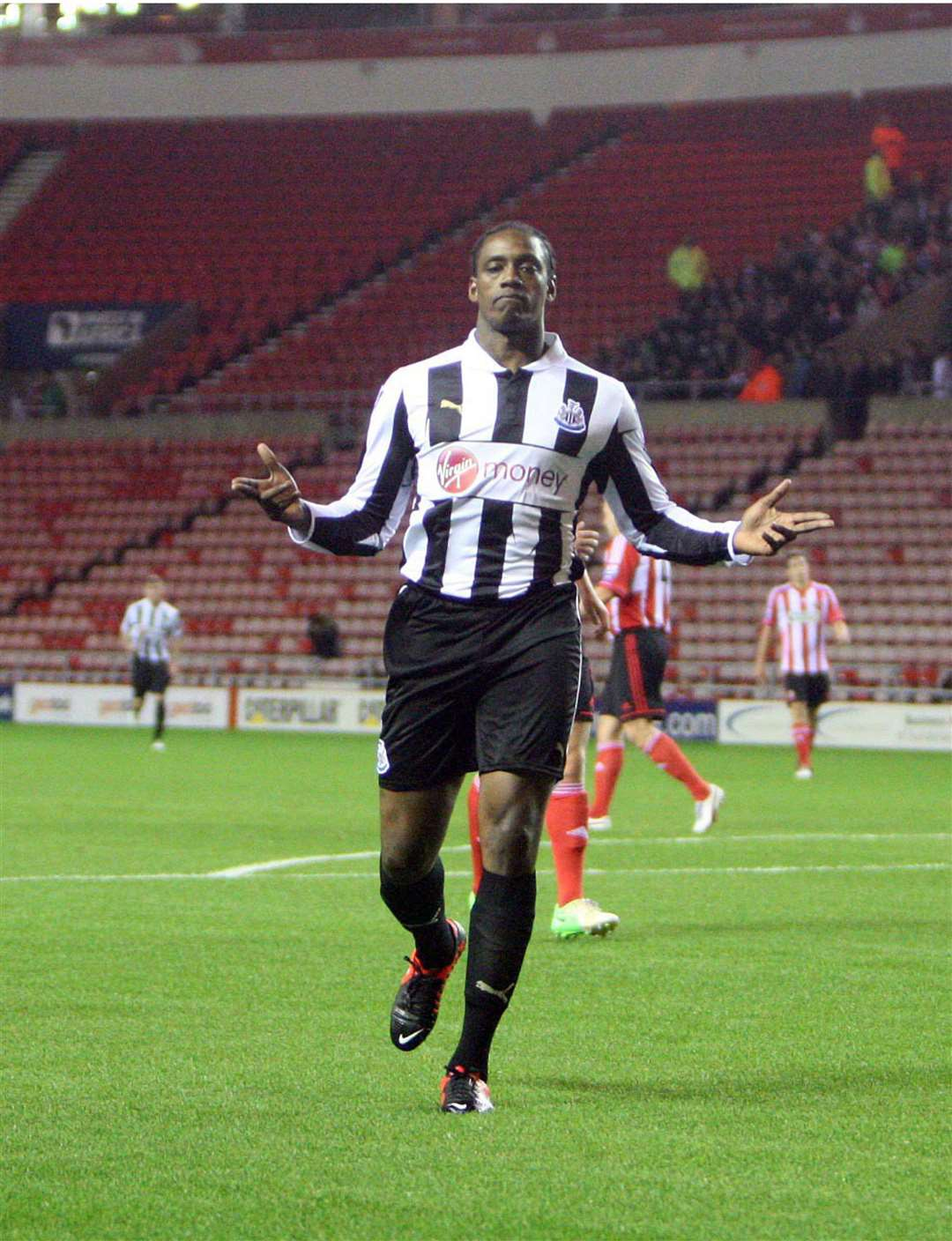 Nile Ranger pictured during his Newcastle United days.