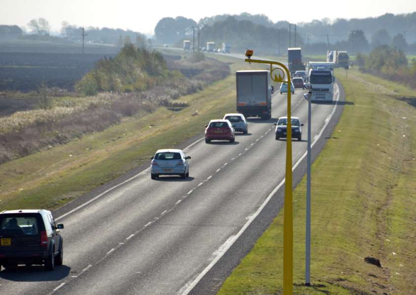 DUAL OF THE ROAD: Crowland parish councillors have fresh impetus to ask for the part-dualling of the A16. Photo by Tim Wilson. SG071116-206TW.