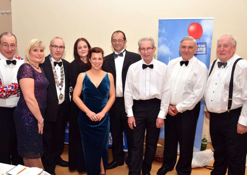 Association members Mark Shearer, Mary Barnes, Andrew Parsons, Lizzy Adams, Mary Adams, Nigel Garfoot, Ian Tilley, Terry Wells, Richard Munton. Photo (TIM WILSON):SG211017-214TW