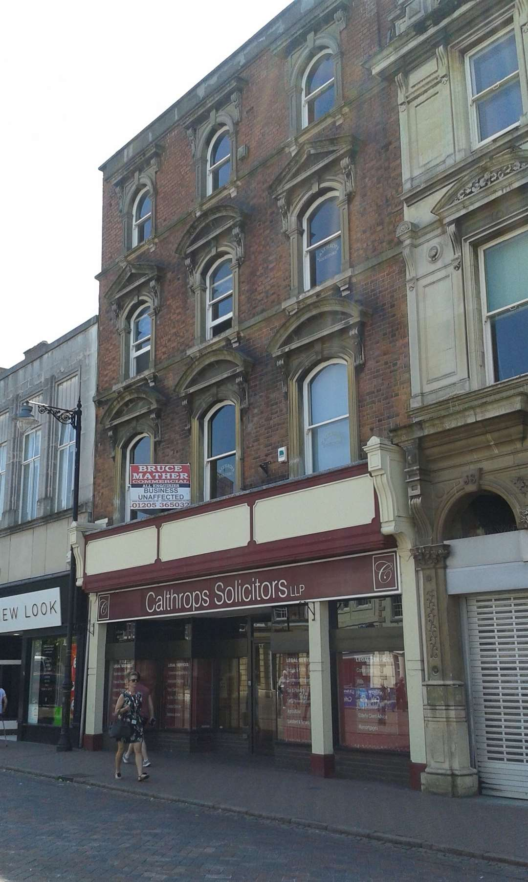 The building is up for sale but Calthrops business is unaffected.