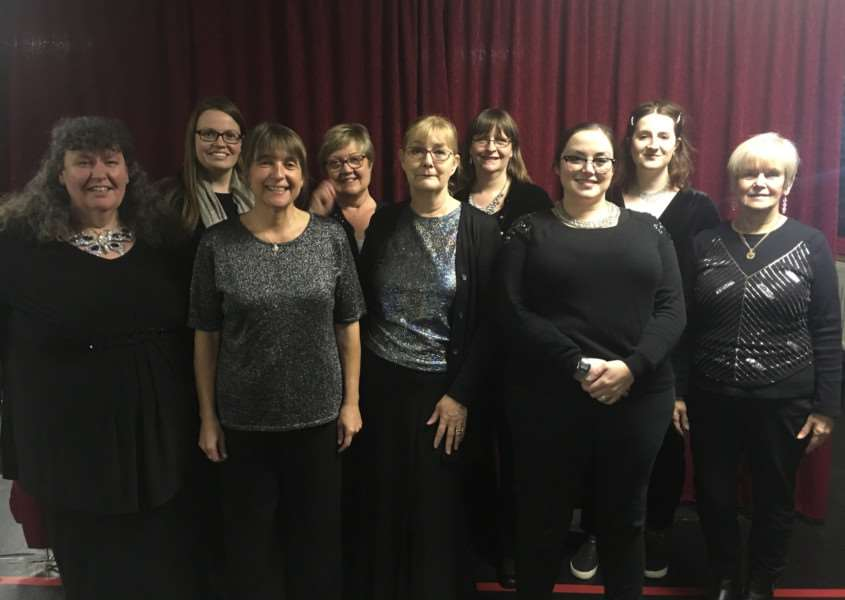 The Mirinesse Singers perform on Saturday, November 25, at the Vista Hall, Spalding.