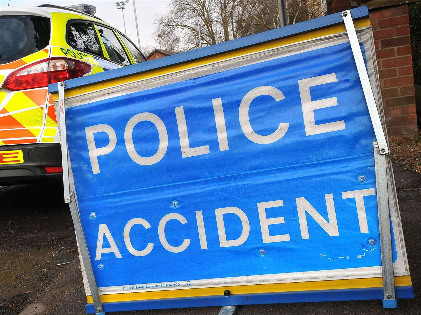 Emergency services are at the scene of a three-vehicle crash on the A15 in Langtoft. (15251196)