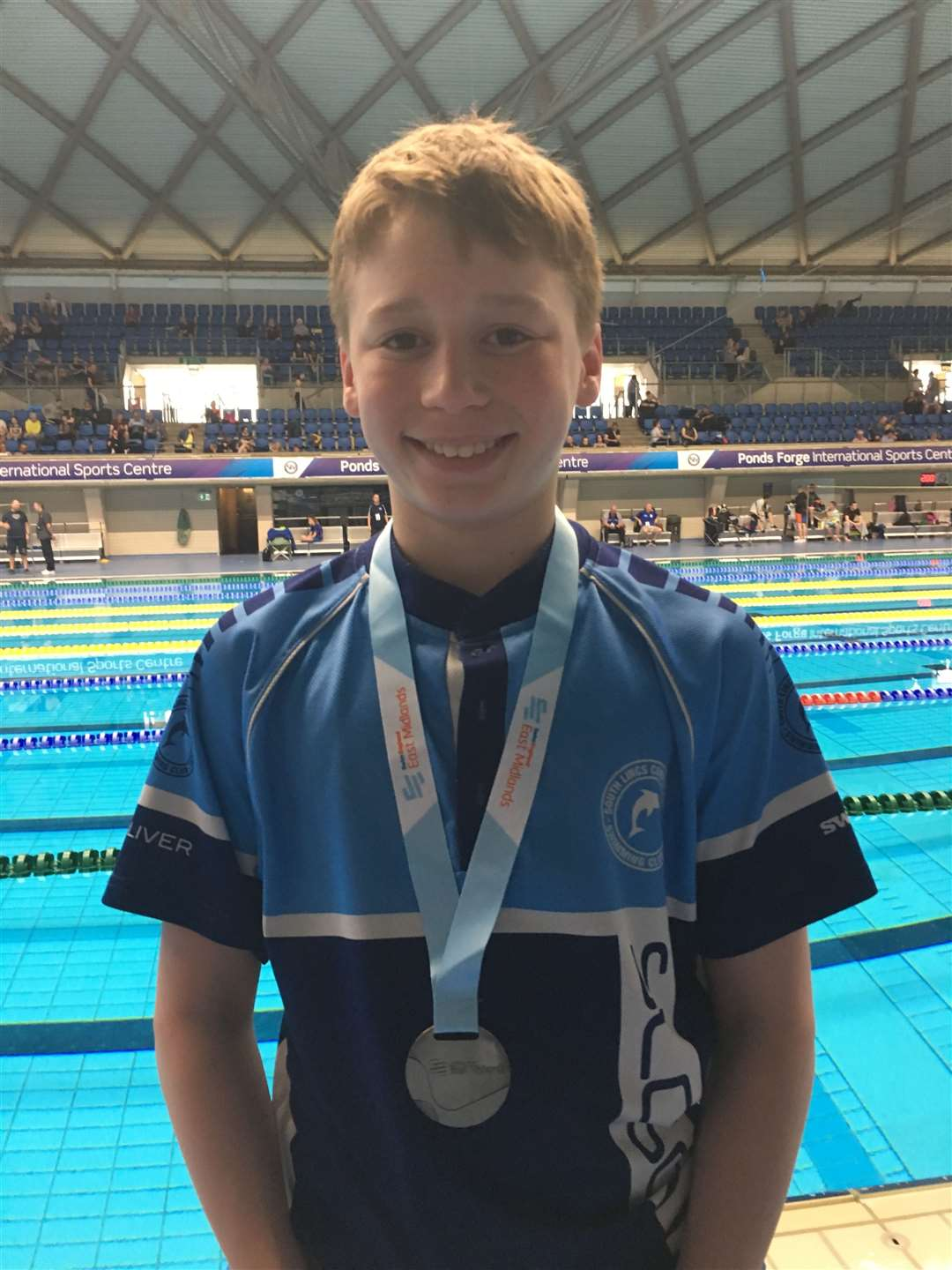Oliver Sorrell (silver 1500m freestyle)