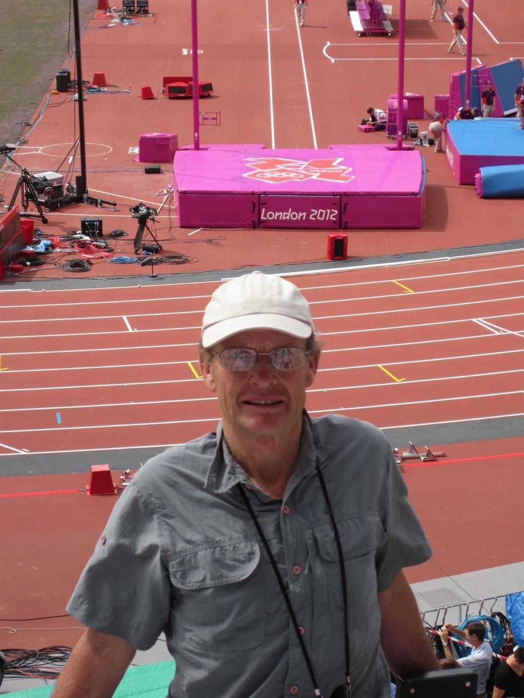 Roy Thickpenny pictured at the LOndon 2012 Olympics (42711139)