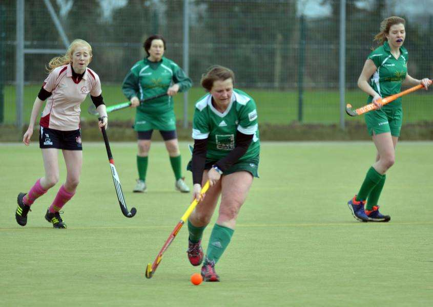 Hockey action at Long Sutton.