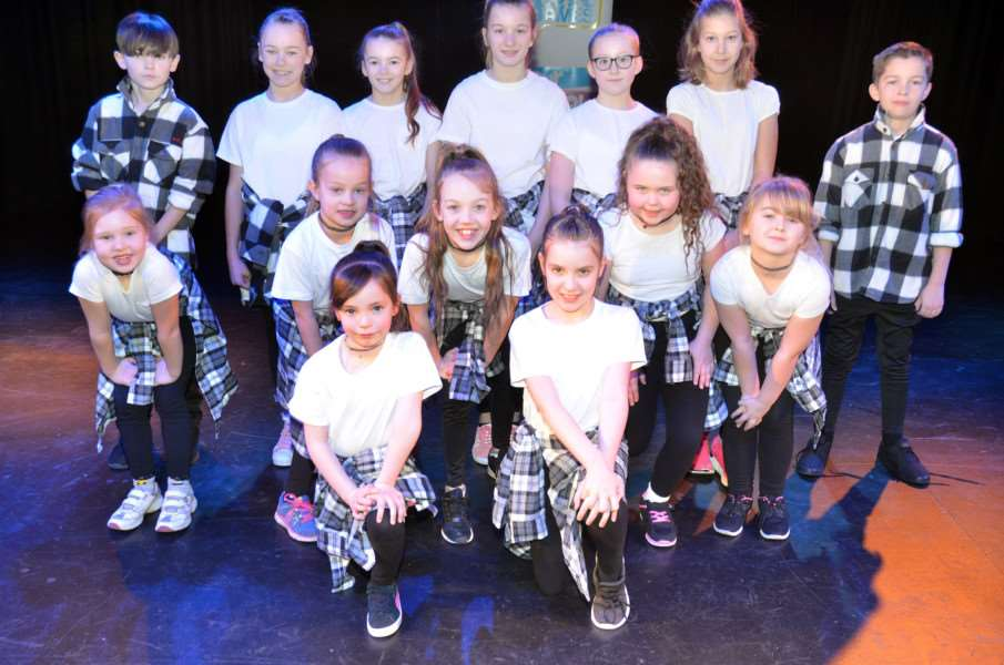 The young dancers from Long Sutton
