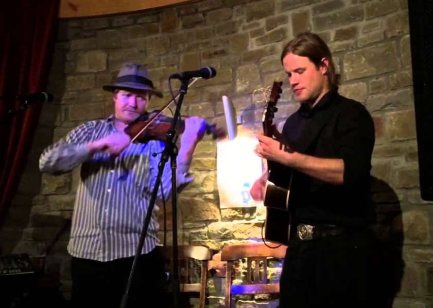 Kit Hawes and Aaron Catlow are Spalding Folk Club's guests on Wednesday, February 7.