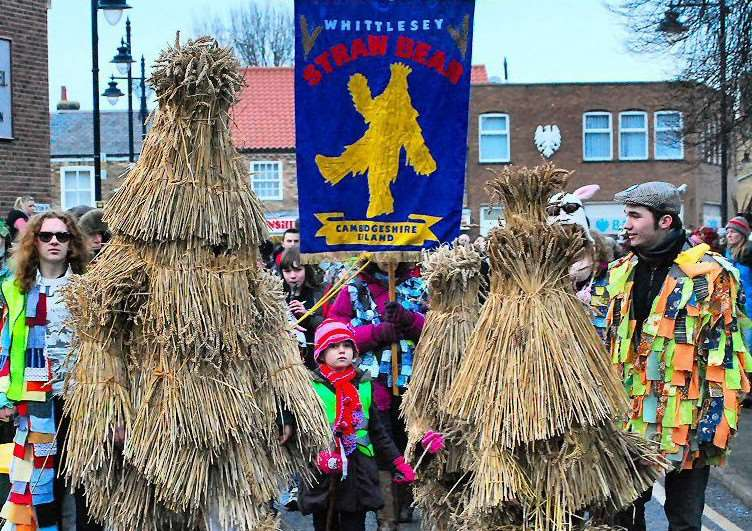 The annual Straw Bear Festival at Whittlesey is back for its 39th year.