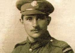 Sergeant (Sgt) Harold Jackson of Kirton who was awarded the Victoria Cross in 1918 'for most conspicuous bravery and devotion to duty'. Photo supplied.
