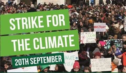 Global Climate Strike Memes, Hashtags, & Social Media Organizing