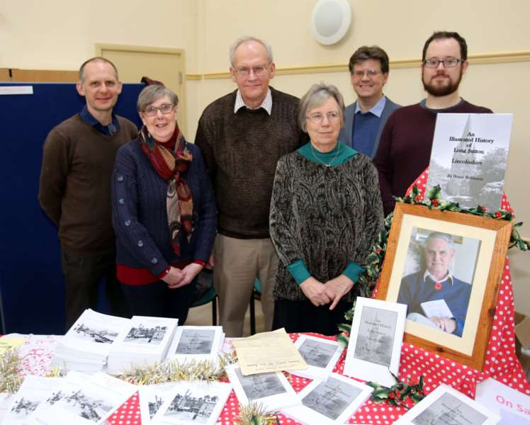 Long Sutton and District Civic Society members at the launch event for their new book An Illustrated History of Long Sutton.