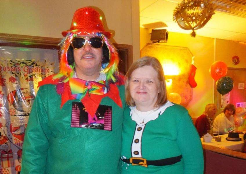 Fundraisers Paul and Toni West