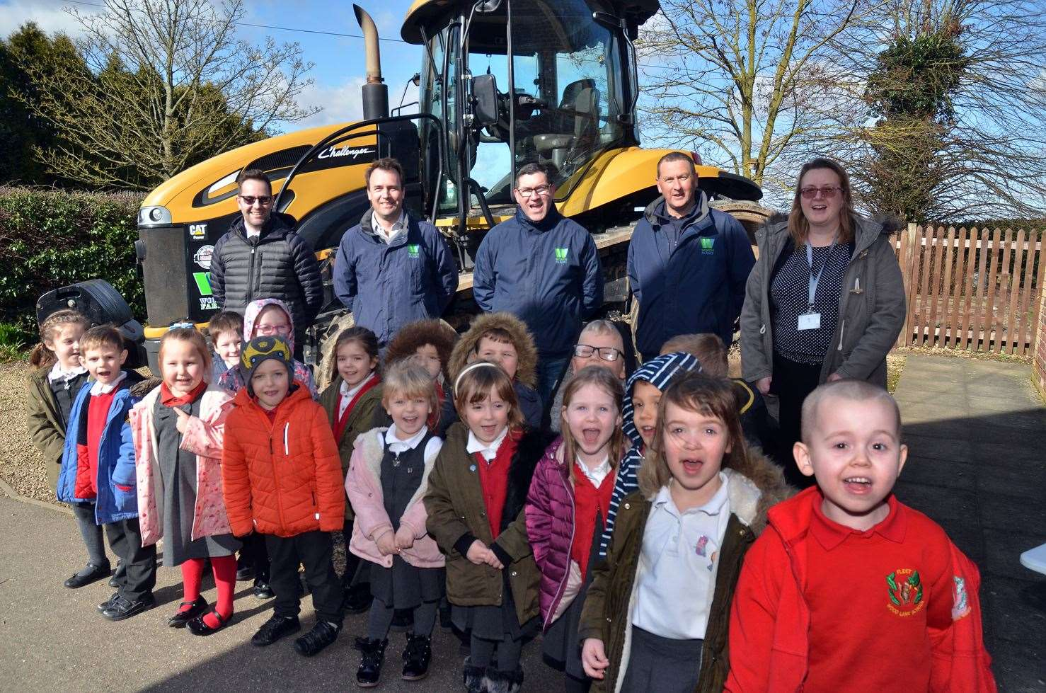 Learning all about farming - thanks to a visit from Worth Farms in Holbeach Marsh. (7579917)